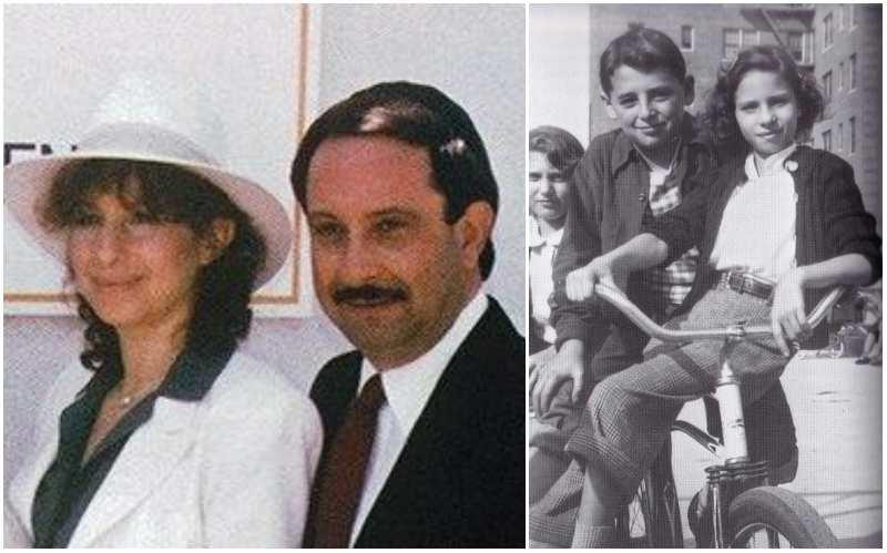 Barbra Streisand's siblings - brother Sheldon Streisand