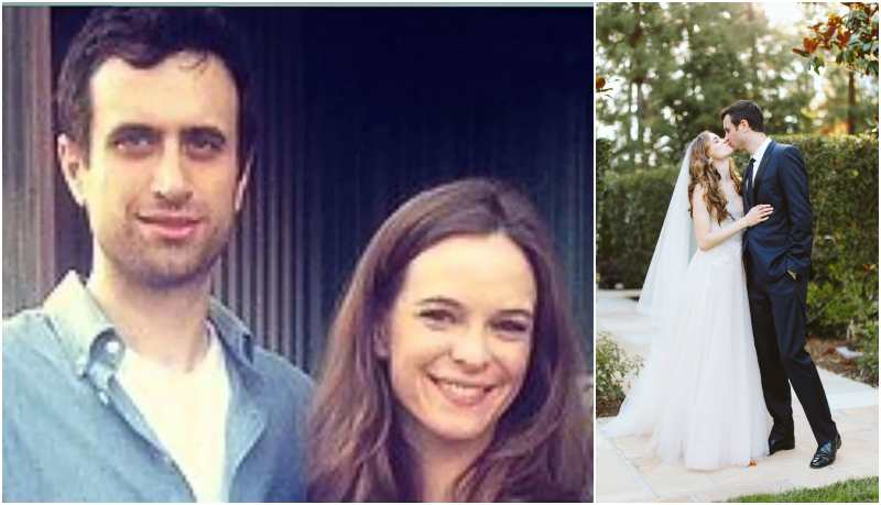 Danielle Panabaker's family - husband Hayes Robbins