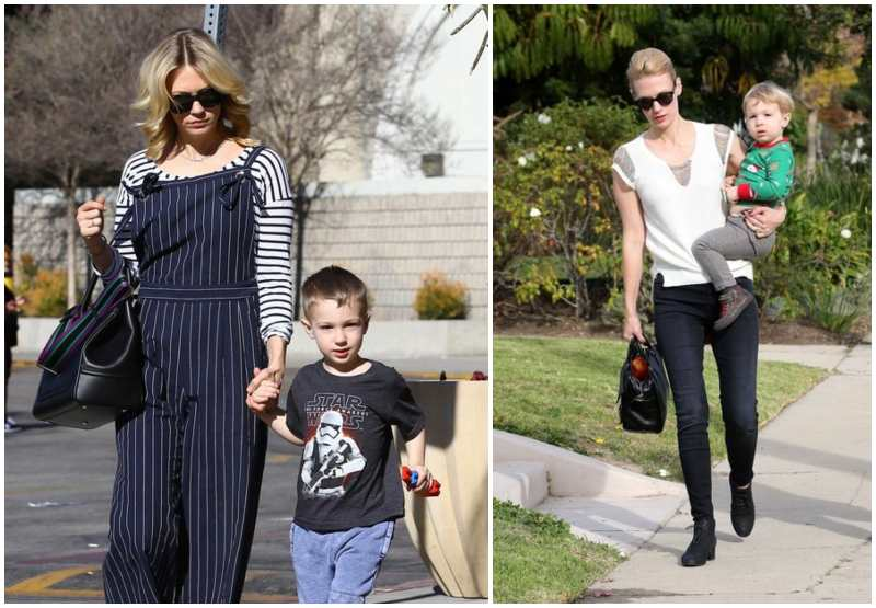 January Jones' children - son Xander Dane Jones