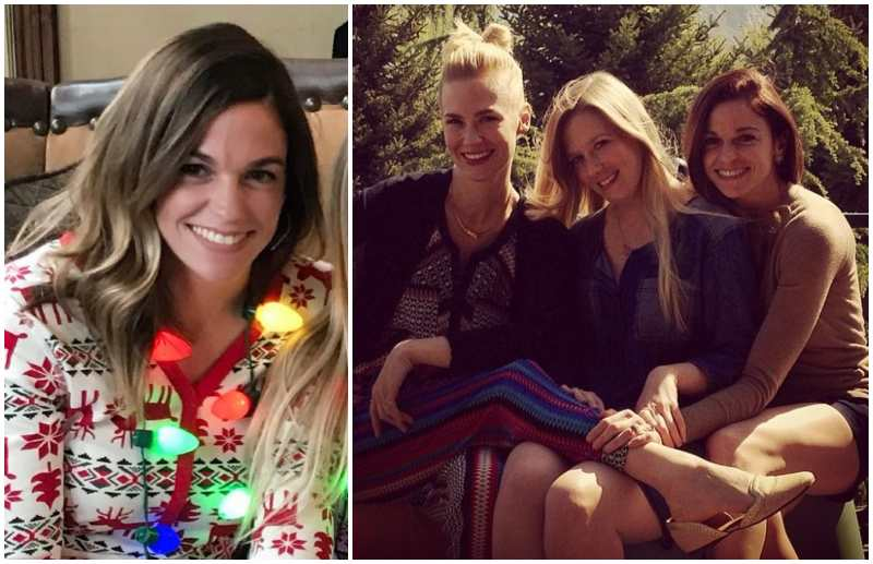 January Jones' siblings - sister Jacey Jones