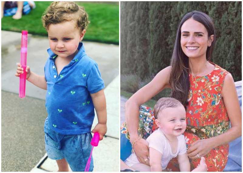 Jordana Brewster's children - son Rowan Form-Brewster
