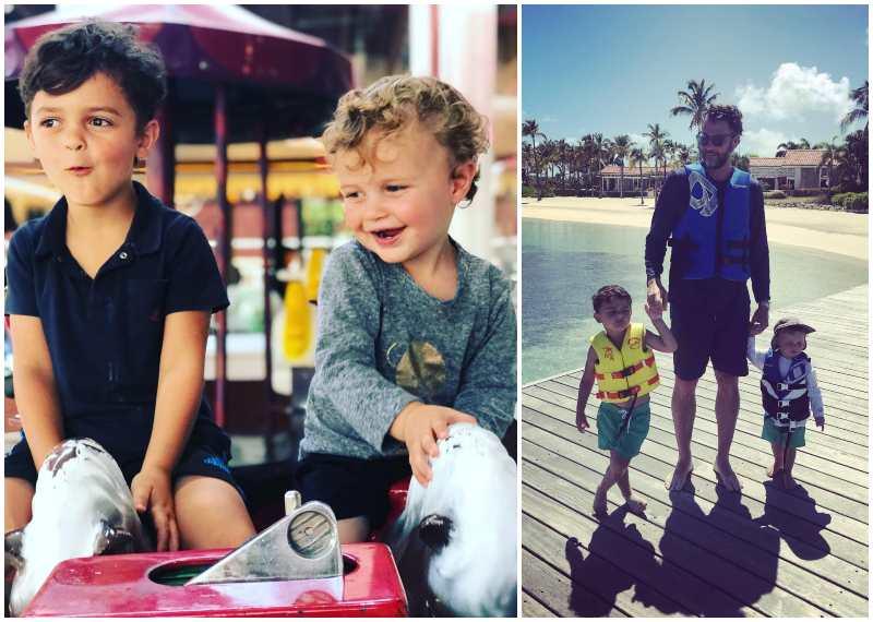 Jordana Brewster's children - 2 sons