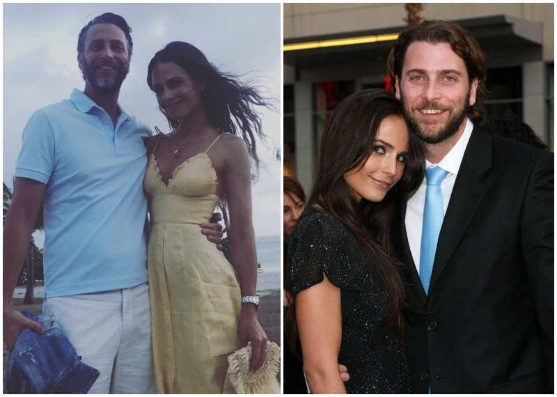 Jordana Brewster's family - husband Andrew Form