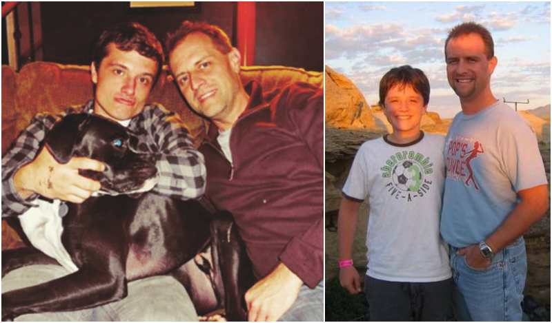 Josh Hutcherson's family - father Chris Hutcherson