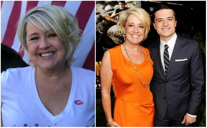 Josh Hutcherson's family - mother Michelle Fightmaster Hutcherson