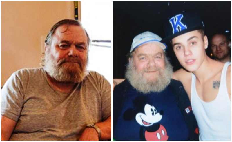 Justin Bieber's family - paternal grandfather George Bieber