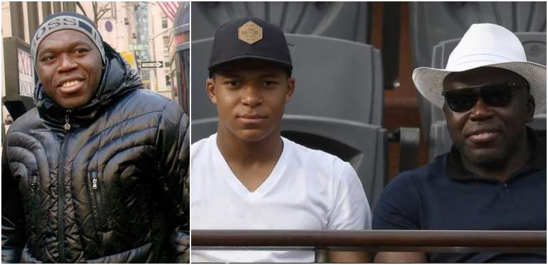 Kylian Mbappe's family - father Wilfried Mbappe