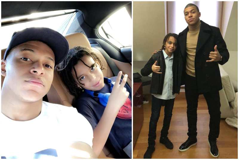 Kylian Mbappe's siblings - brother Ethan Adeyemi Mbappe