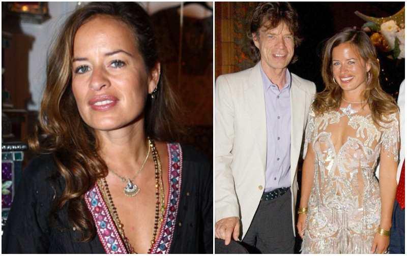 Mick Jagger's children - daughter Jade Sheena Jezebel Jagger