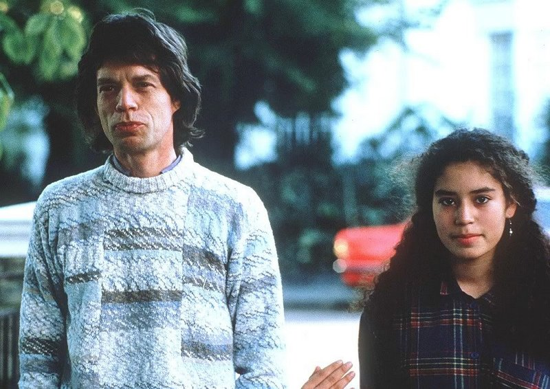 Mick Jagger's children - daughter Karis Jagger
