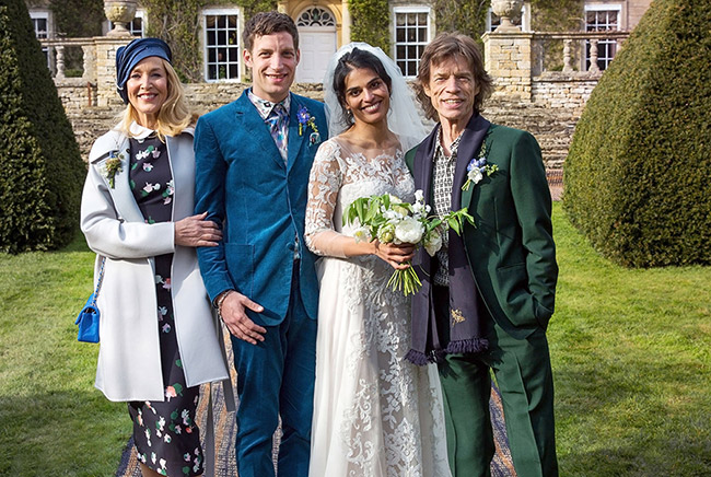 Mick Jagger's children - son James Jagger