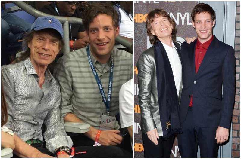 Mick Jagger's children - son James Leroy Augustin Jagger