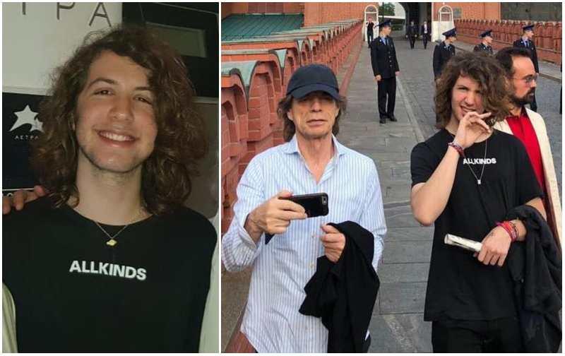 Mick Jagger's children - son Lucas Maurice Morad Jagger