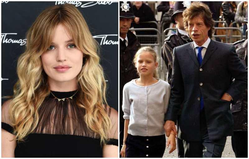 Mick Jagger's children - daughter Georgia May Ayeesha Jagger