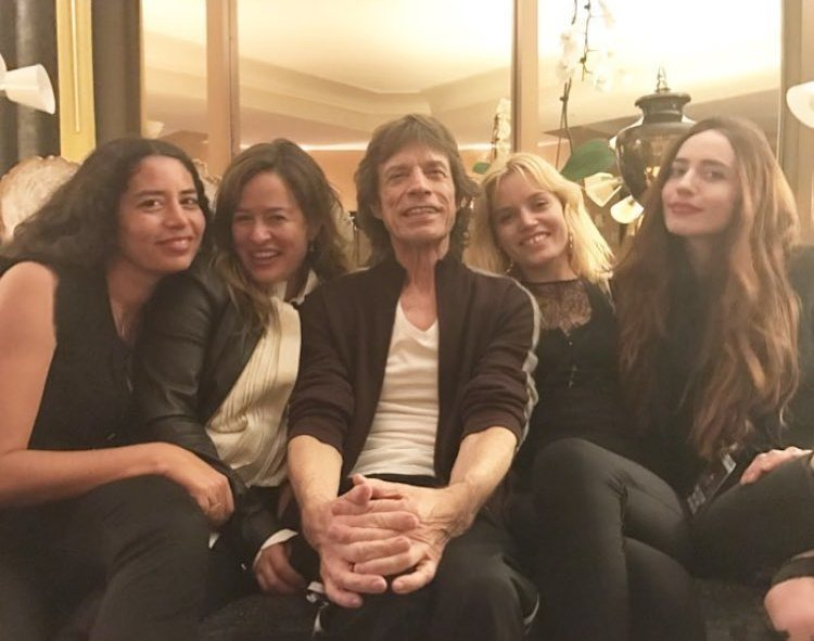 Mick Jagger's children - 4 daughters