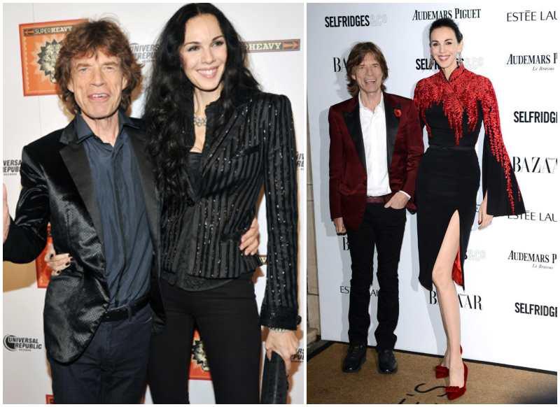 Mick Jagger's family - former partner L'Wren Scott