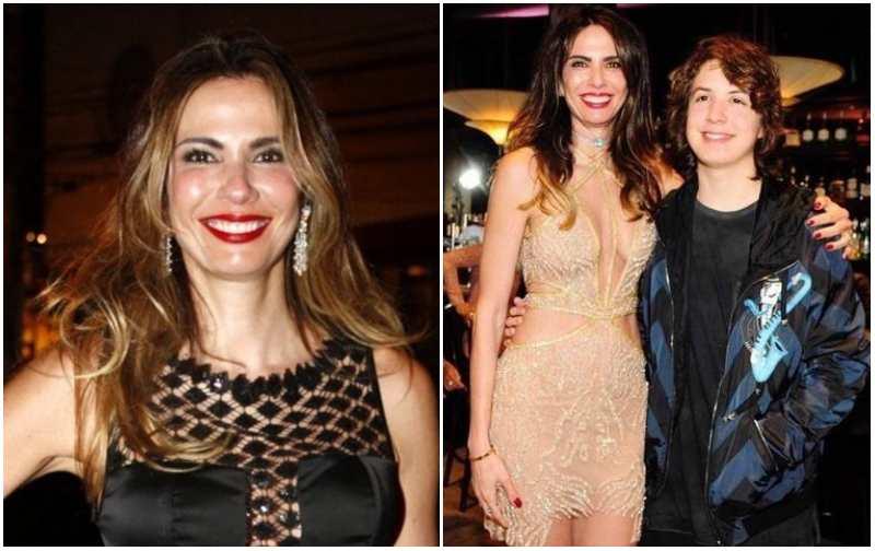 Mick Jagger's family - former partner Luciana Gimenez
