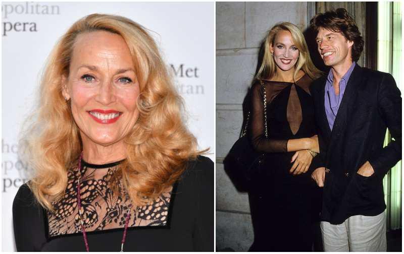 Mick Jagger's family - former partner Jerry Hall