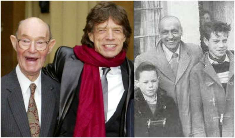 Mick Jagger's family - father Basil Fanshawe Jagger
