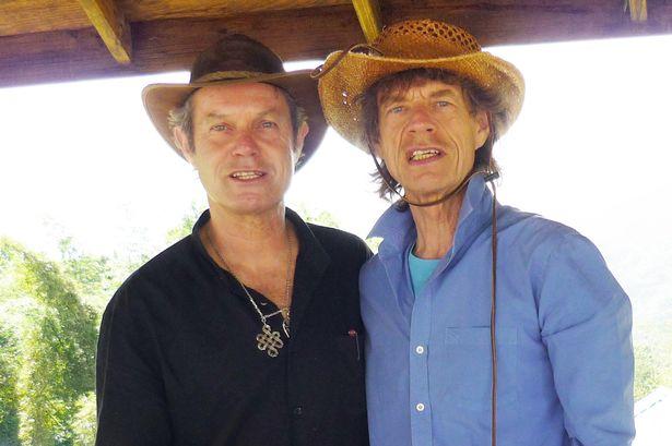 Mick Jagger's siblings - brother Chris Jagger