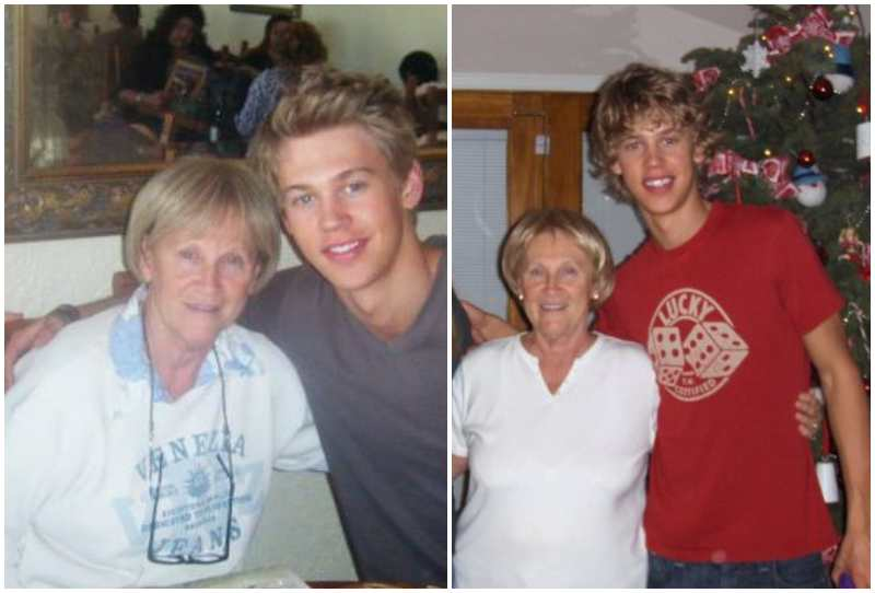 Austin Butler's family - maternal grandmother Karen Howell