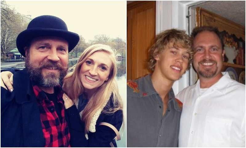 Austin Butler's family - father David R. Butler