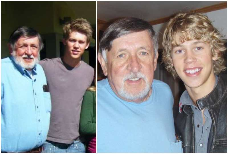 Austin Butler's family - maternal grandfather Robert Talmadge Howell