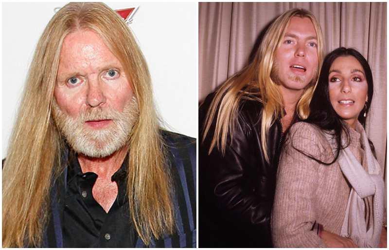 """Cher's family - ex-husband Gregory """"Gregg"""" LeNoir Allman"""