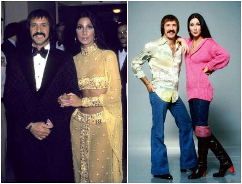 Cher's family - ex-husband Sonny Bono