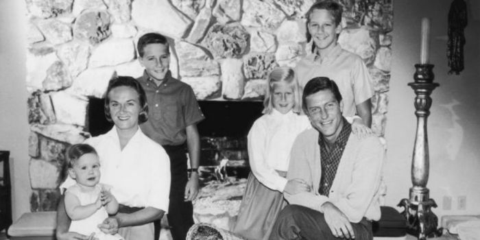 Dick Van Dyke's family - ex-wife Margie Willett and kids