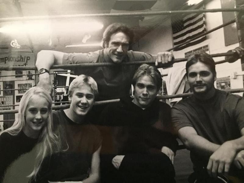 Dick Van Dyke's family - son Barry Van Dyke and grandkids