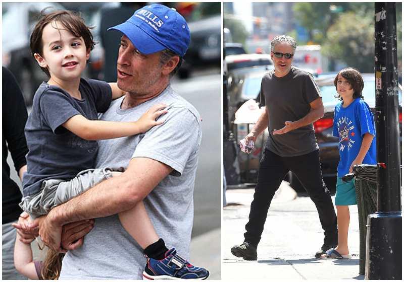 Jon Stewart's children - son Nathan Thomas Stewart
