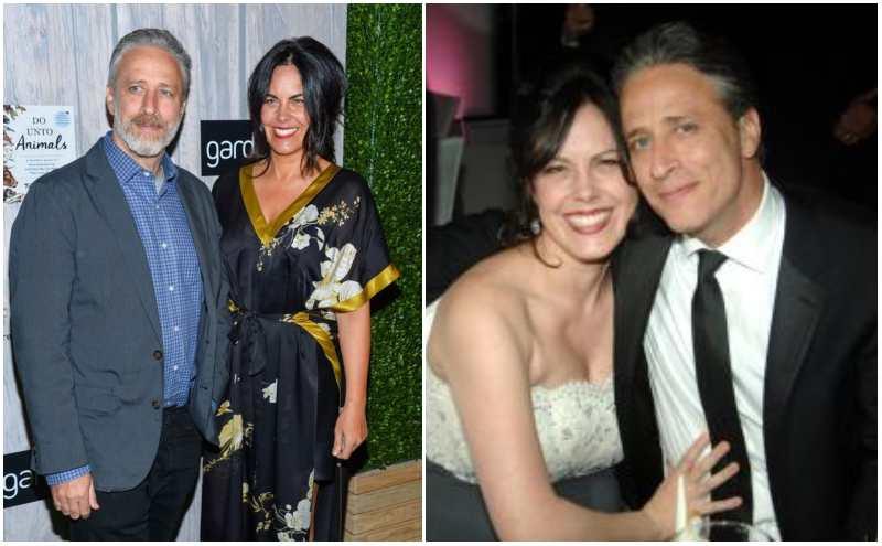 Jon Stewart's family - wife Tracey Lynn McShane