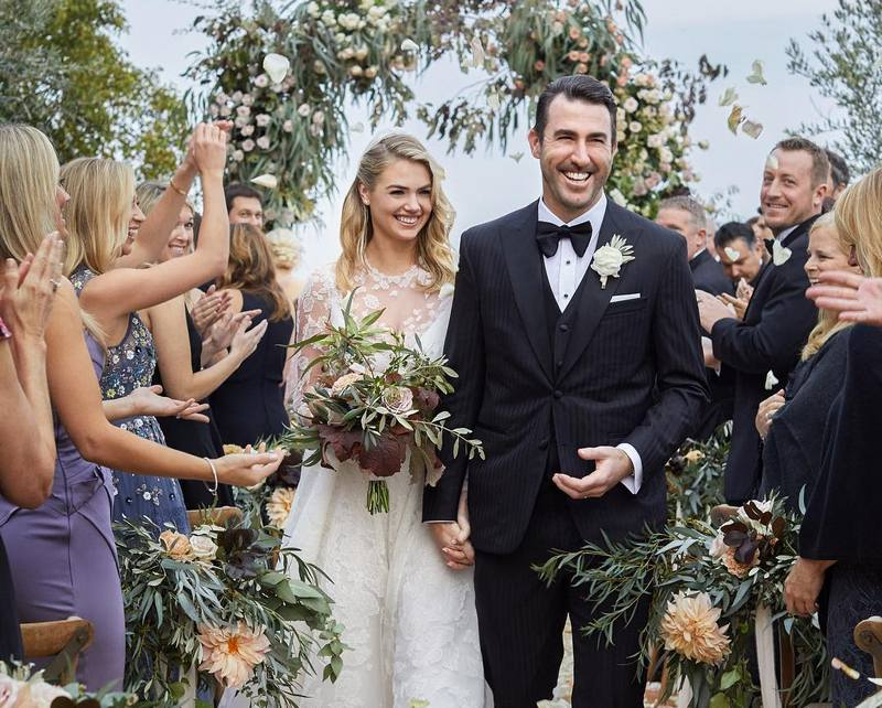 Kate Upton's family - husband Justin Brooks Verlander