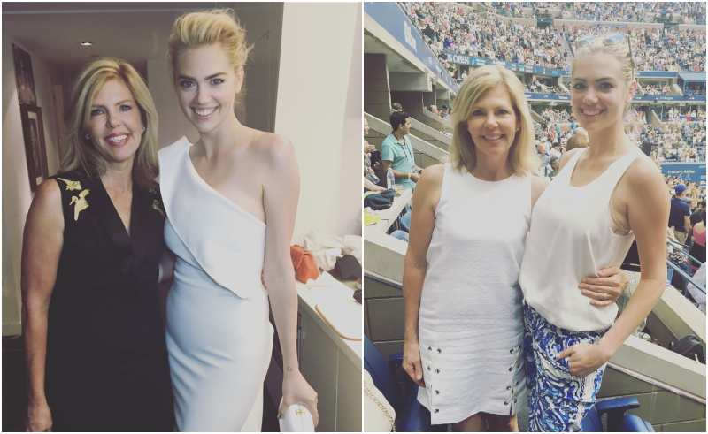 Kate Upton's family - mother Shelley Upton