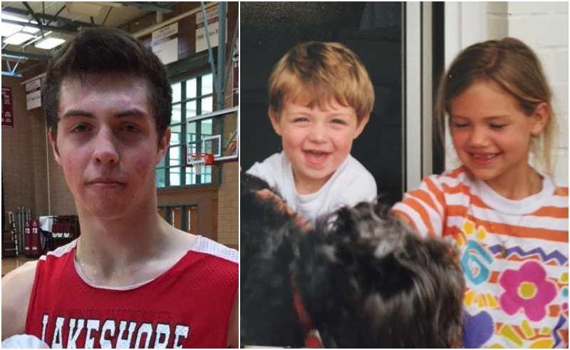 Kate Upton's siblings - brother David Upton