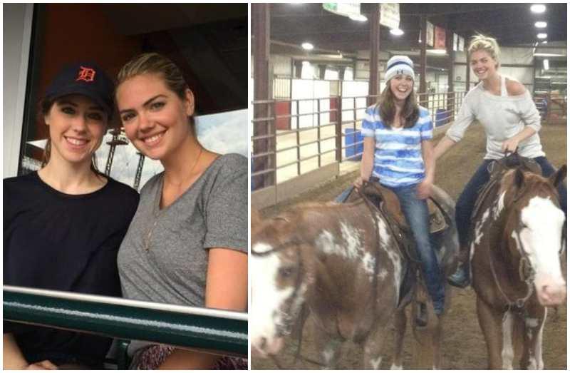 Kate Upton's siblings - sister Laura Upton