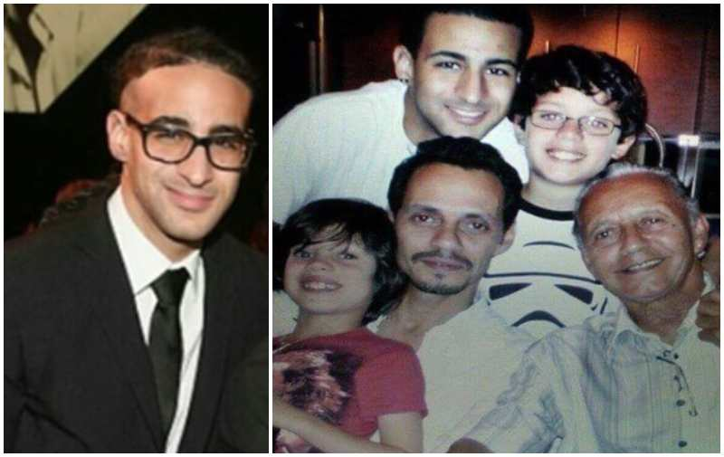 Marc Anthony's children - adopted son Alex Chase Muniz