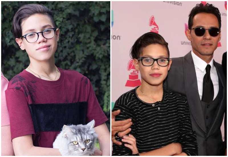 Marc Anthony's children - son Ryan Adrian Muniz