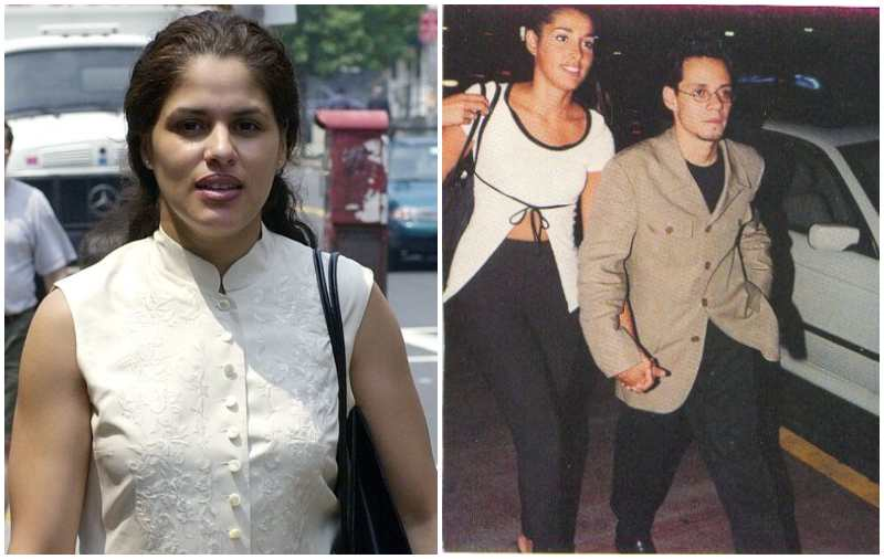 Marc Anthony's family - ex-partner Debbie Rosado