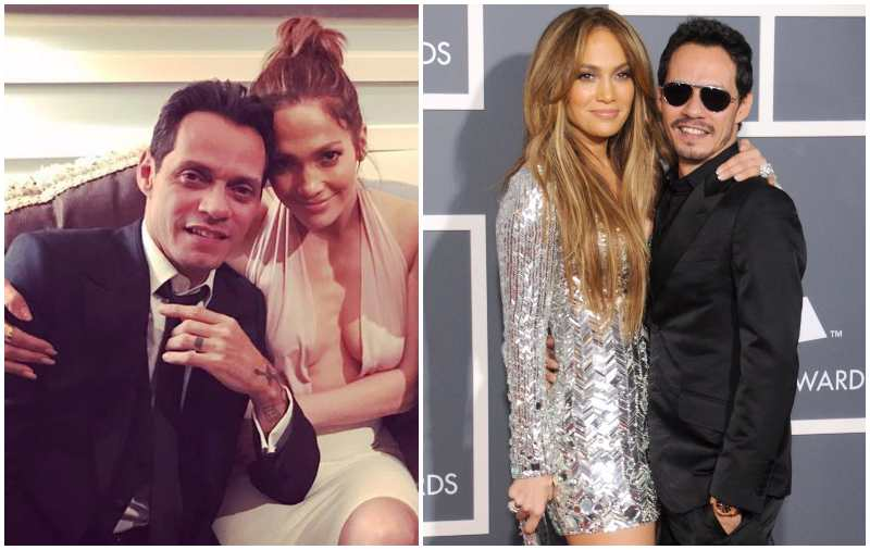 Marc Anthony's family - ex-wife Jennifer Lopez