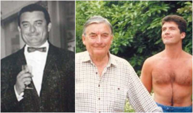 Simon Cowell's family - father Eric Selig Phillip Cowell