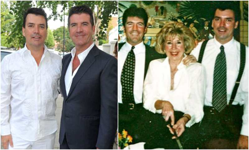 Simon Cowell's siblings - half-brother Nicholas Andrew Cowell