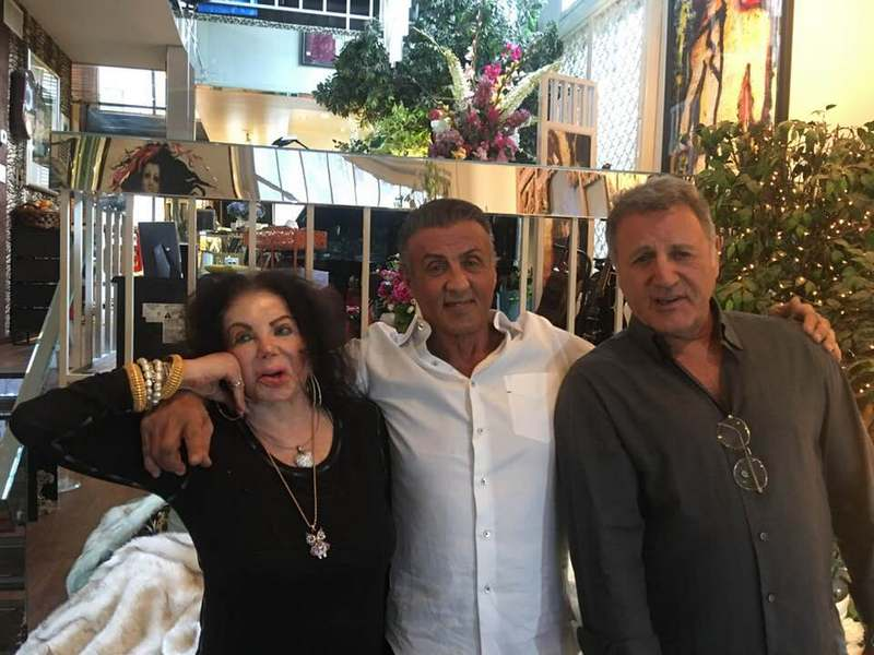 Sylvester Stallone's family - mother and brother