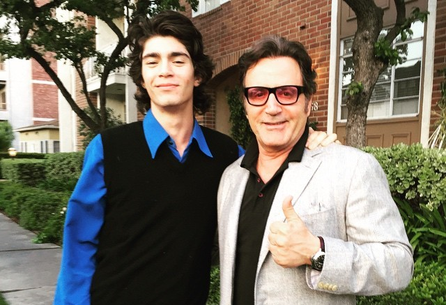 Sylvester Stallone's nephew Ed and brother Frank Jr.