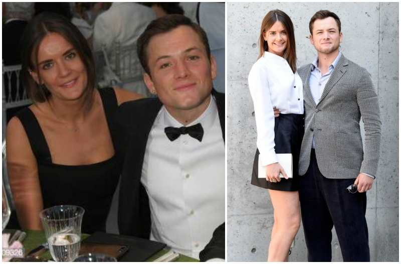 Taron Egerton's family - girlfriend Emily Thomas