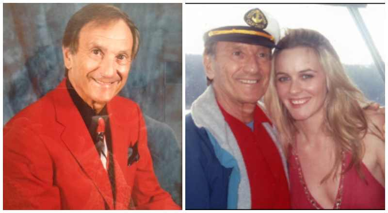 Alicia Silverstone's family - father Monty Silverstone