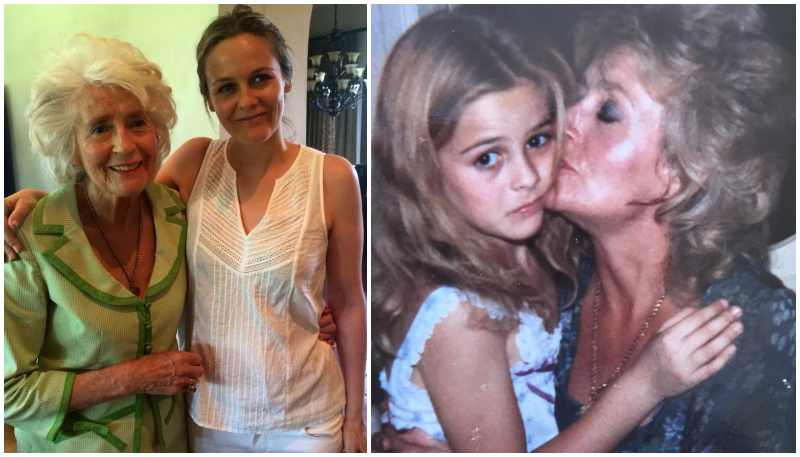 "Alicia Silverstone's family - mother Deirdre ""Didi"" Silverstone"