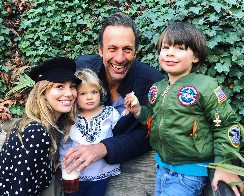 Camila Morrone's family - father and siblings