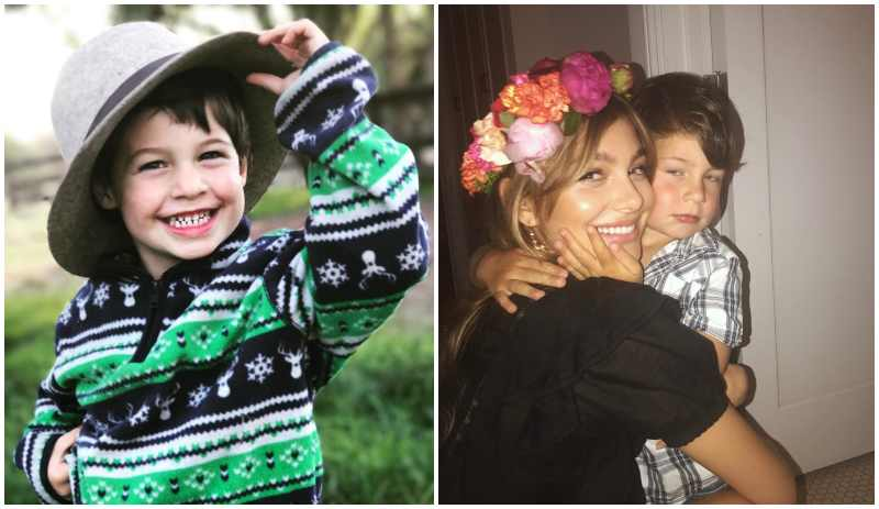 Camila Morrone's siblings - half-brother Sky Morrone